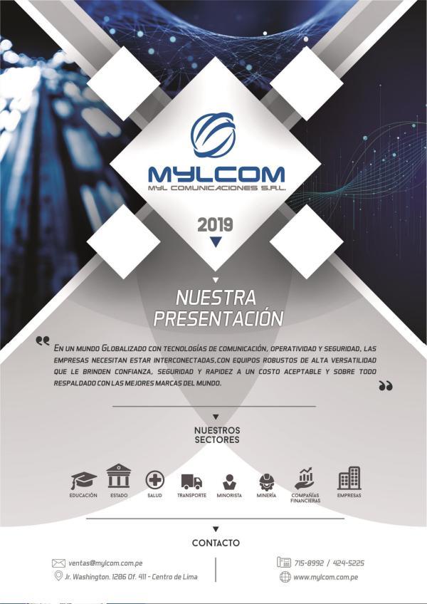 CATÁLOGO PRODUCTOS GENERALES CATALOGO MYLCOM PRODUCTOS EN COMUNICACIÓN