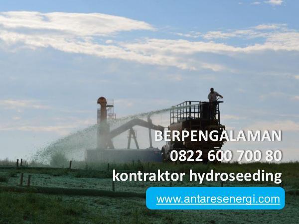 BERPENGALAMAN, 0822 600 700 80, kontraktor hydrose