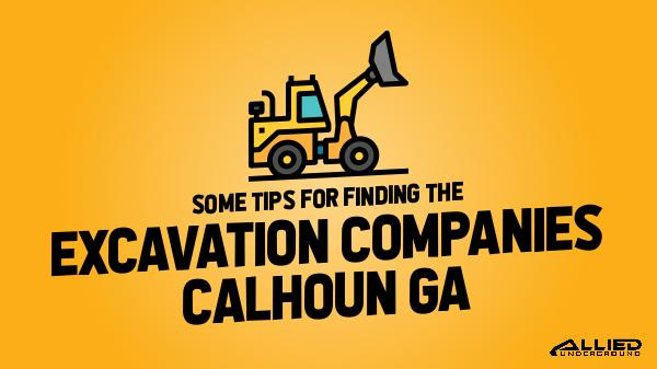 Excavation Companies Some Tips for Finding the Excavation Companies
