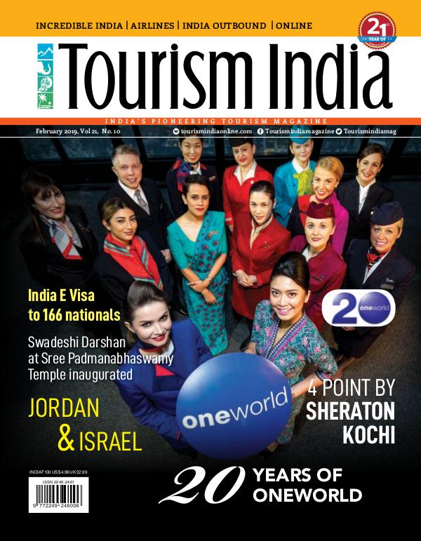 TOURISM INDIA MARCH 2019 TOURISM INDIA FEBRUARY 2019