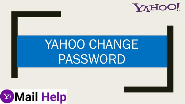 yahoo change password customer service yahoo change password