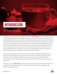 Receta del Té Rojo Detox / Liz Swann Miller Libro Gratis