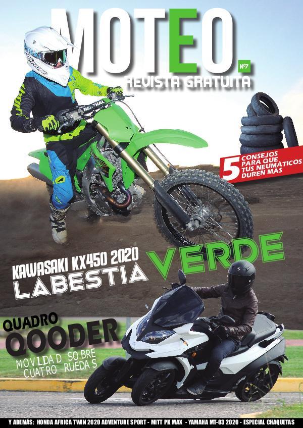 MOTEO Nº7 - Prueba Kawaswaki KX450 y Quadro Qooder