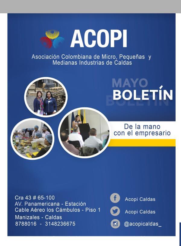 BOLETÍN MAYO ACOPI CALDAS ACOPI CALDAS