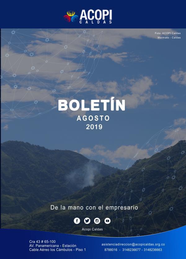 -BOLETÍN ACOPI CALDAS | AGOSTO- - Boletín Agosto - ACOPI CALDAS
