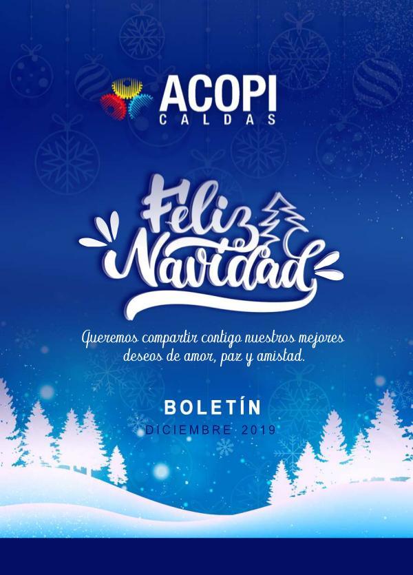 BOLETÍN DICIEMBRE - ACOPI CALDAS NAVIDAD