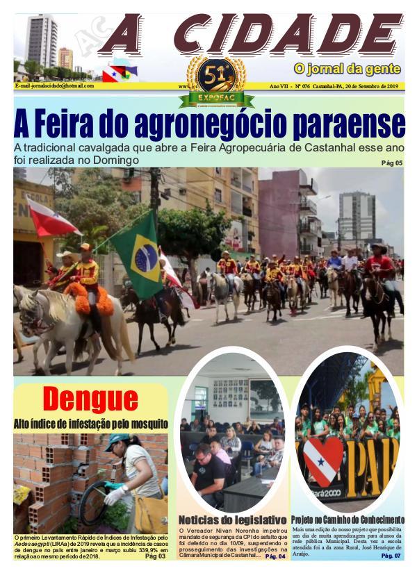 Jornal A Cidade - Castanhal JAC076 - Completo