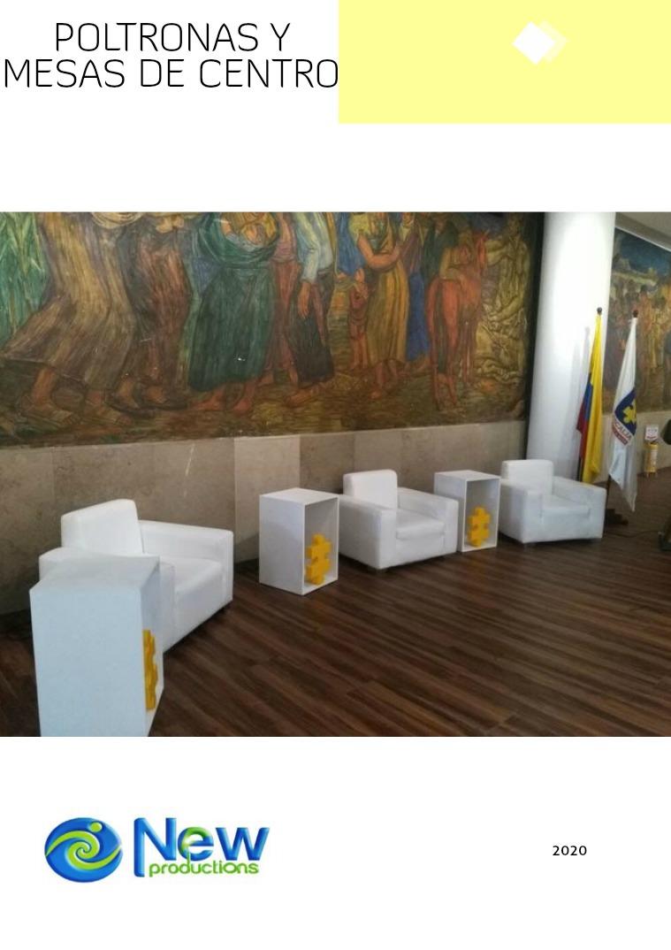 Catálogo Poltronas y Mesas de Centro 2019 1