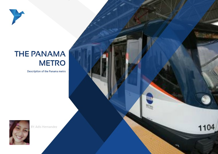 Essay the two lines of the Panama Metro 1