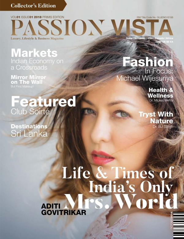 Passion Vista Magazine Vol. 01 Issue 01