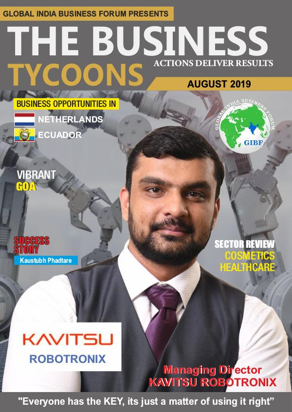 GIBF E Magazine AUG-SEPT-2019 GIBF The Business Tycoons Magazine  Aug-Sept