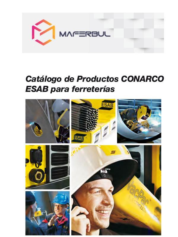 Catálogo de ESAB - CONARCO CATALOGO ESAB - MAFERBUL