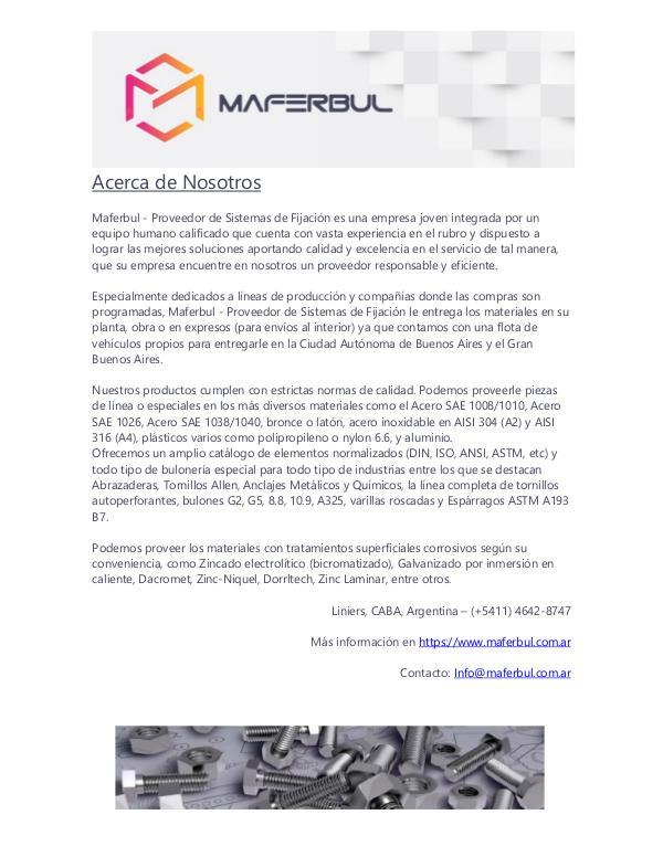 Catálogo de Tyrolit - Maferbul | Proveedor de Sistemas de Fijación CATALOGO TYROLIT - MAFERBUL