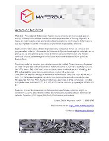 Catálogo de Tyrolit - Maferbul | Proveedor de Sistemas de Fijación