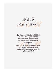 Catálogo Liliana Méndez, línea exclusiva.