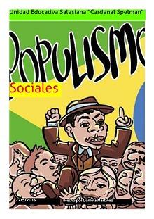 El populismo