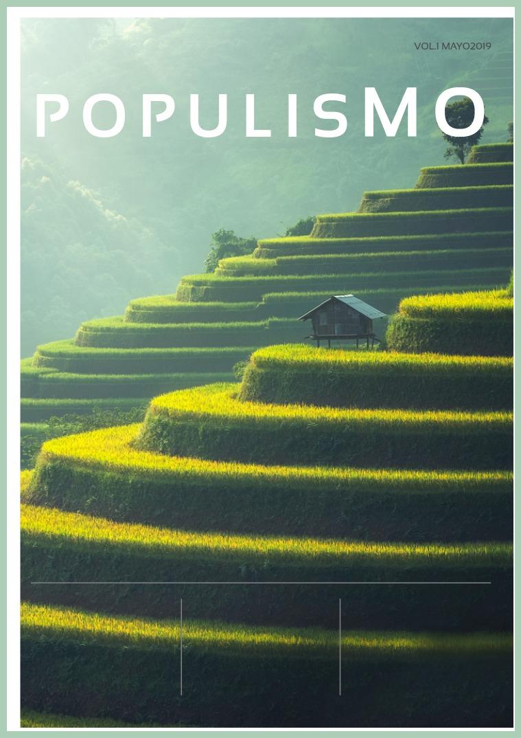 EL POPULISMO EL POPULISMO