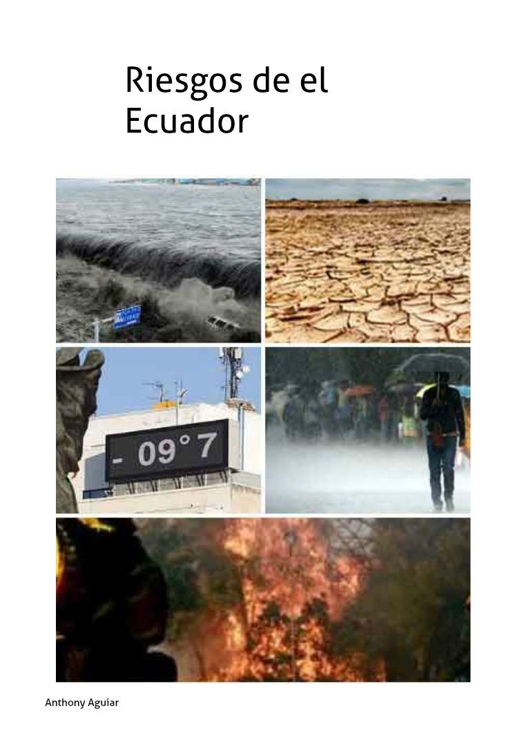 Riesgos en el Ecuador volumen 1