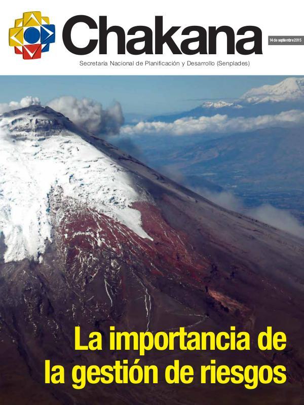 RIESGOS EN ECUADOR Chakana-Revista-de-Análisis-de-la-Secretaría-Nacio
