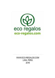 Catálogo Merch Ecológico Germinable 2019