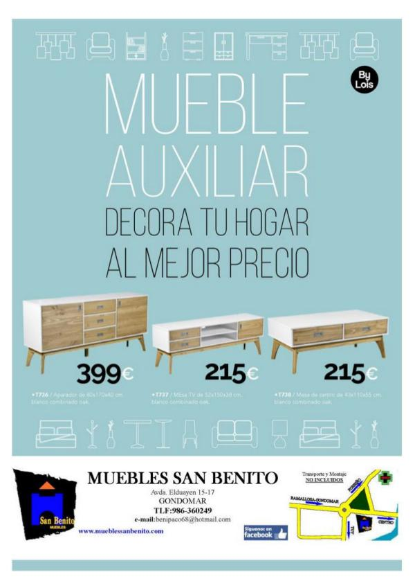 Mueble Auxiliar 032-2019 AUXILIAR 032-2019