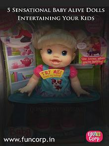 5 Sensational Baby Alive Dolls Entertaining Your Kids