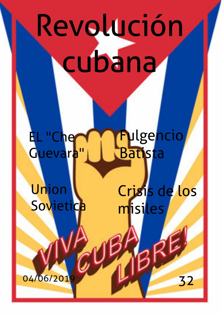 REVOLUCION CUBANA REVOLUCION CUBANA