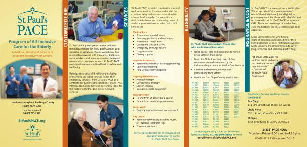 St. Paul's PACE Medical Care Exclusively for Seniors