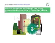 Out-of-Pocket Spending on Out-Patient Care in India: Assessment