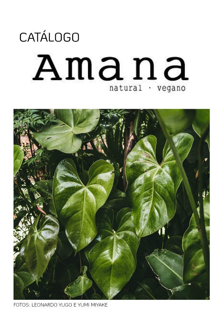 AMANA COSMÉTICOS CATÁLOGO - AMANA COSMÉTICOS