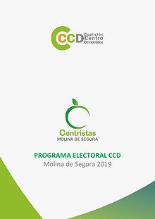 Programa Electoral CCD Centristas Molina de Segura