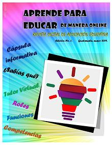 Aprende para educar de manera online