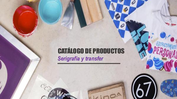 Productos para estampado - Golden Anka Catálogo Virtual