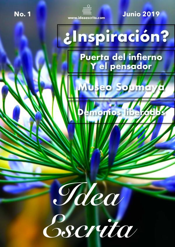Idea Escrita FLOR AZUL