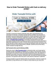 Buy Tramadol COD || Tramadol Cash On Delivery