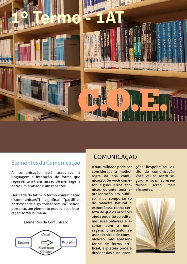 C.O.E. 1