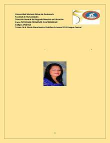 """Portafolio del Curso """"Tices para promover el Aprendizaje"""""""