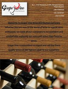 Grape Vine Wine Distribution