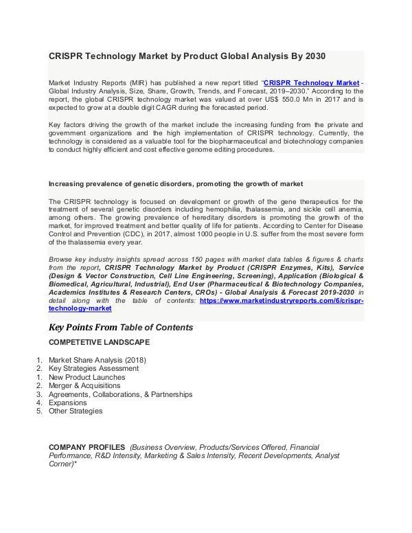 CRISPR Technology Market Global Opportunity Analysis and Industry For CRISPR Technology Market-converted