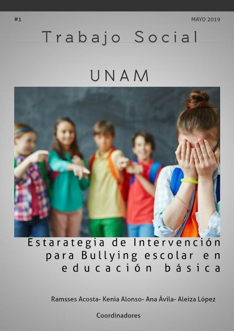 Mi primera publicacion Estrategia de intervención para bullying escolar e
