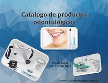 Catalogo de productos odontológicos