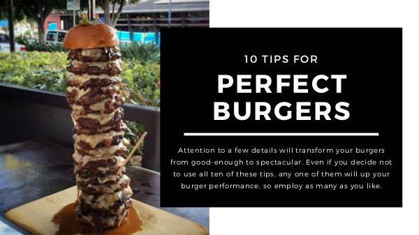 Best Burger Tips for Perfect Burgers
