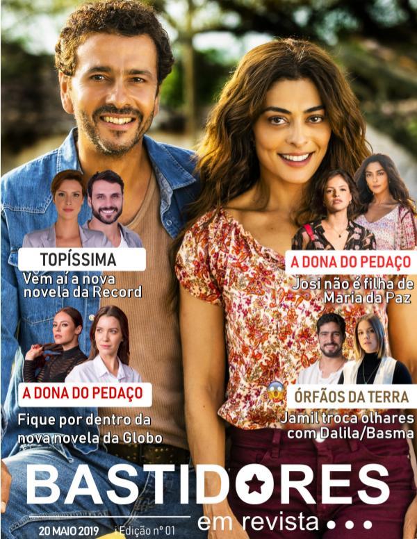 Edição nº 01 I 20. maio. 2019 Bastidores em Revista