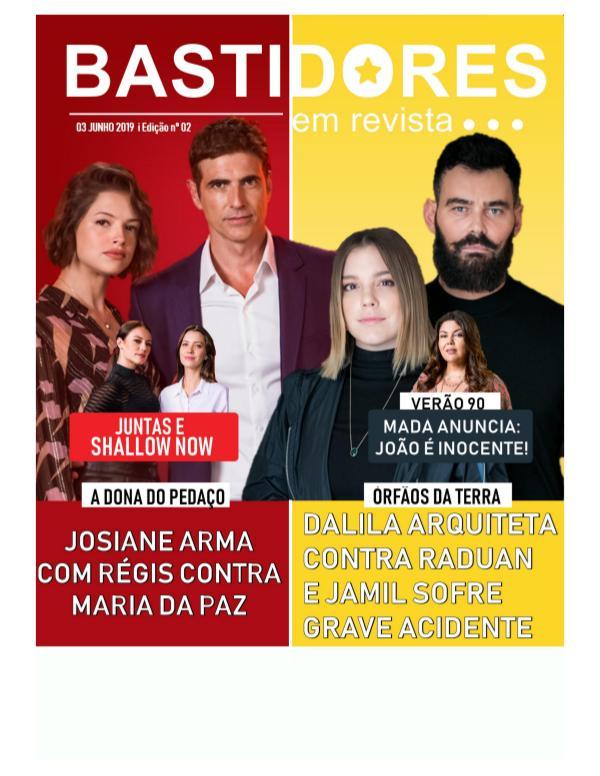 Edição nº 02 I 03. jun. 2019 Bastidores em Revista