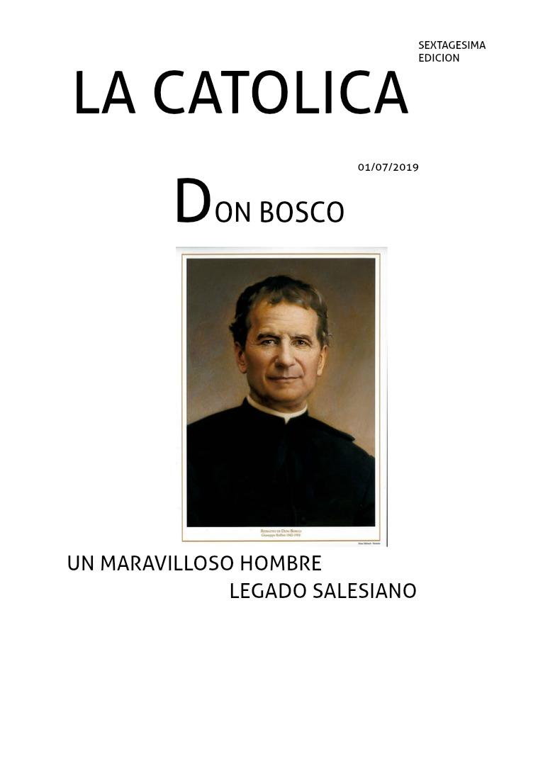 Don Bosco Quimestral DON BOSCO