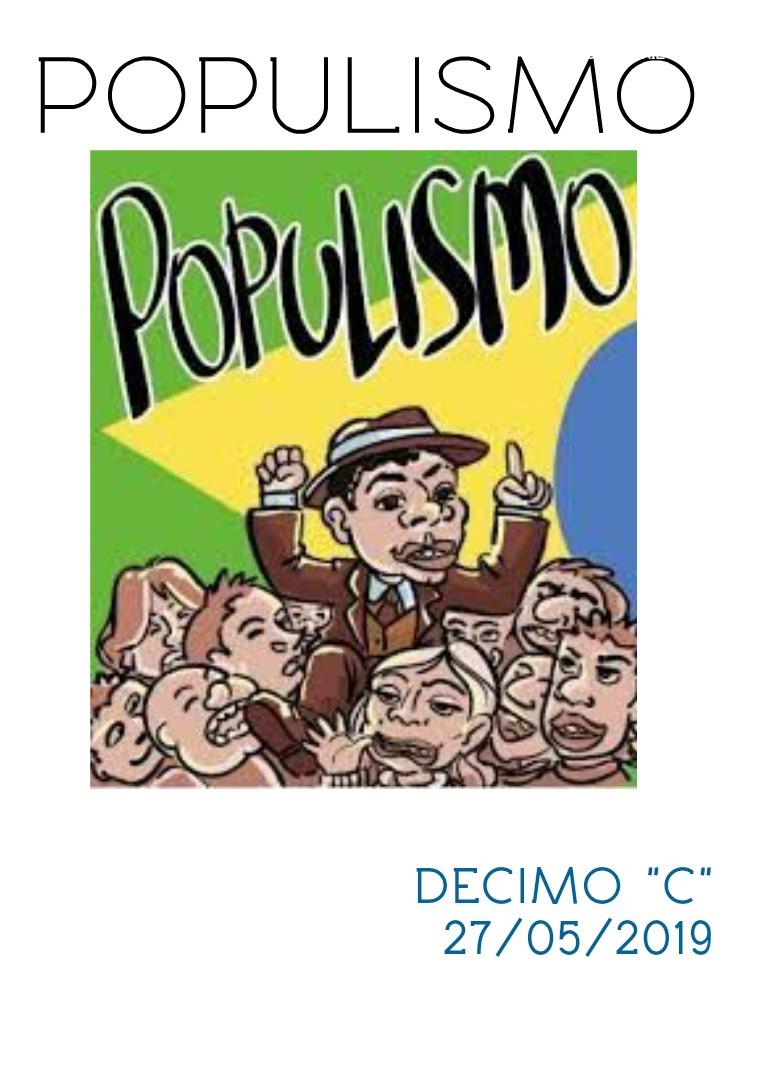 populismo populismo