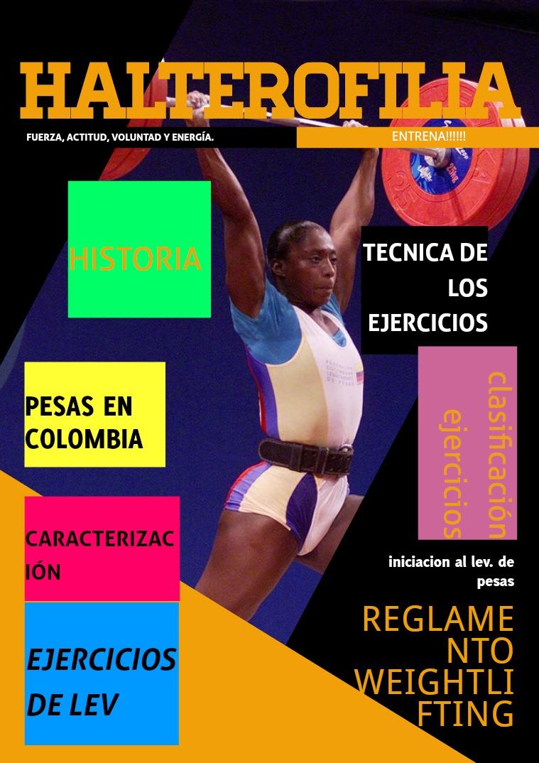 pesas olímpicas VOL 1
