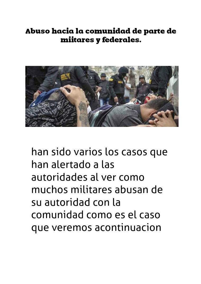 militares violan derechos humanos militares violan derechos humanos