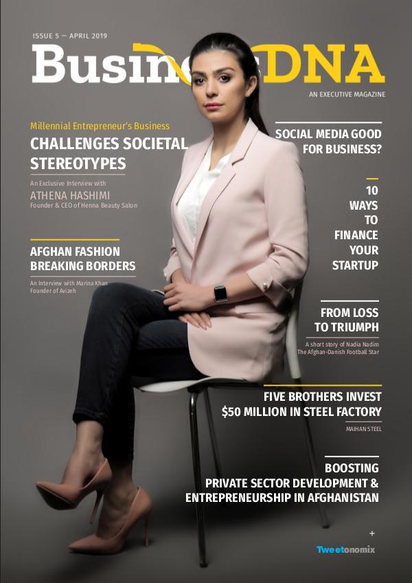Business DNA - Magazine Issue 5 - APR 2019