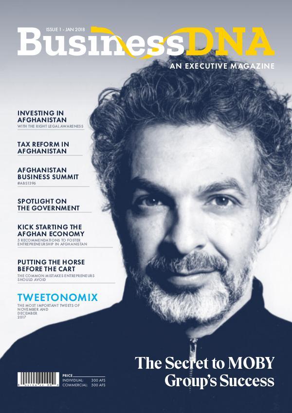 Business DNA - Magazine Issue 1 - FEB 2018